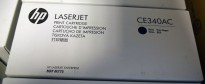 HP Original toner CE340AC contract whitebox (CE340A), Sort, for 700 color MFP M775 NY/UBRUKT