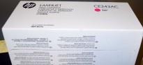 HP Original toner CE343AC contract whitebox (CE343A), Magenta/Rød, for 700 color MFP M775 NY/UBRUKT