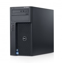 Stasjonær PC: Dell Precision T1650, Xeon E3-1240 V2 - 3.4GHz Quad Core / 16GB / 500GB  / nVidia Quadro 2000, Win10, pent brukt
