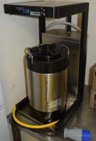 Termostrakter fra Brewmatic, modell 508, for fast vanntilkopling, 3fas 230V, pent brukt