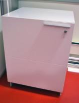 Medieskap / skap for AV-utstyr på møterom fra Abstracta, bredde 60cm, høyde 80cm, pent brukt