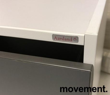 Liten skuffseksjon for plassering i skap eller på skrivebord fra Aarsland, 3skuffer, 40x39x37,4cm, pent brukt bilde 3