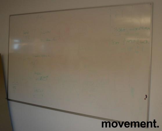 Whiteboard-tavle, vegghengt modell, 200x120cm, brukt bilde 1