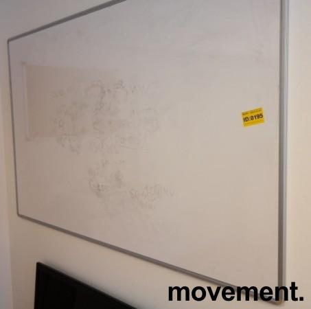 Whiteboard-tavle, vegghengt modell, 200x120cm, brukt bilde 2