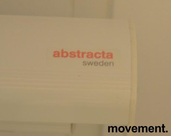 Abstracta manuelt nedtrekkbart lerret, 180cm bredde kasse, pent brukt bilde 3
