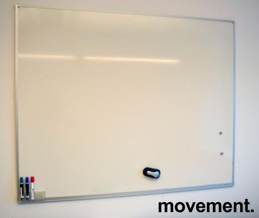 Whiteboard vegghengt 150x120cm, brukt