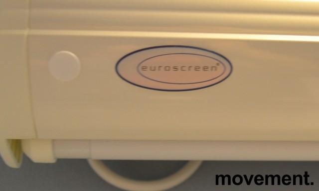 Elektrisk lerret, motorisert fra Euroscreen, kasse bredde 180cm, pent brukt, NB! Kun lerret/hus bilde 2