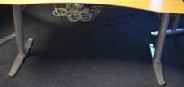 Understell for hevsenk-skrivebord fra Horreds, passer 160x80cm grått understell, pent brukt