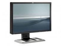 Flatskjerm til PC: HP L2445w, 1920x1200, VGA/DVI, USB / TILT, pent brukt