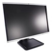 HP 24toms flatskjerm til PC: LA2405wg, 1920x1200, VGA/DVI/DP, med Tilt/USB, pent brukt