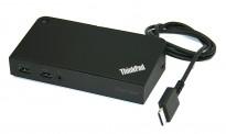 Docking til Lenovo: Onelink+ Dock DU9047S1, komplett med lader, pent brukt