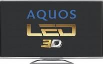 Sharp flatskjerms-TV, 60toms 3D LED Smart TV AQUOS LE750-series, LC60LE751E, pent brukt - uten bordfot