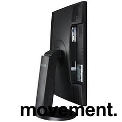 Flatskjerm til PC: Samsung 2443BW, 24 tommer, 1920x1200, VGA/DVI, pent brukt bilde 2