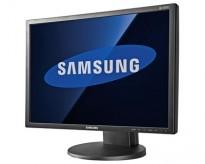 Flatskjerm til PC: Samsung 2443BW, 24 tommer, 1920x1200, VGA/DVI, pent brukt