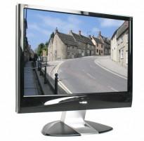 Flatskjerm til PC: ViewSonic VX2435WM, 24toms, 1920x1200, VGA/HDMI, pent brukt