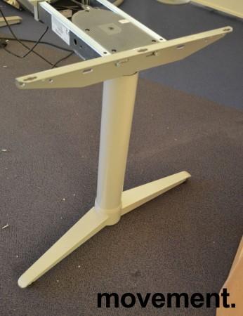 Understell for skrivebord med elektrisk hevsenk fra Edsbyn, teleskop, passer plater 120cm og større, pent brukt bilde 3