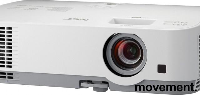Prosjektor: NEC ME301W, 1280x800 WXGA, Widescreen, HDMI, kun 960timer på pære, pent brukt bilde 1
