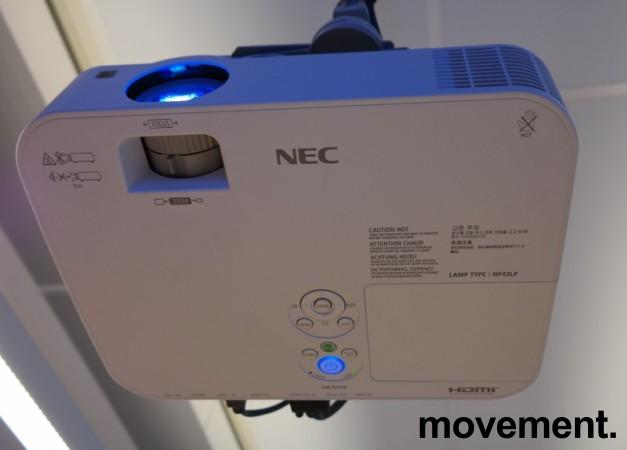 Prosjektor: NEC ME301W, 1280x800 WXGA, Widescreen, HDMI, kun 960timer på pære, pent brukt bilde 2