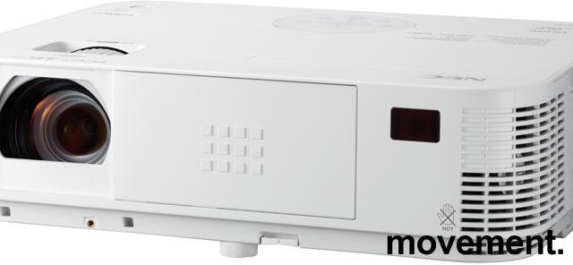 Prosjektor: NEC M322W, 1280x800 WXGA, Widescreen, HDMI, kun 1100timer på pære, pent brukt bilde 1