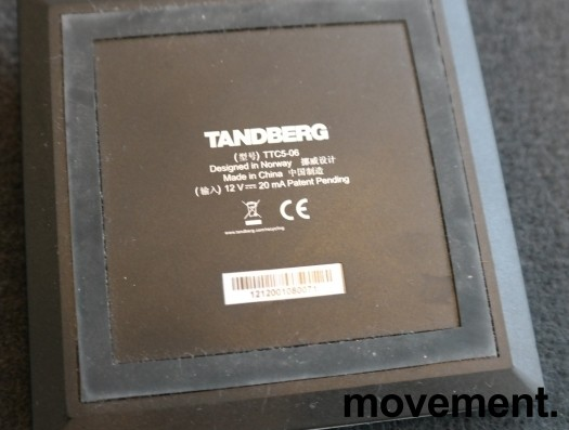 Cisco Telepresence CTS-SX20CODEC, 1080p kamera, bordmikrofon, fjernkontroll, pent brukt bilde 4