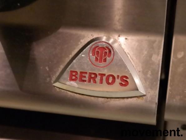 Bertos steketopp / flatgrill / stekeplate, elektrisk, 400V, bredde 80cm, pent brukt bilde 2