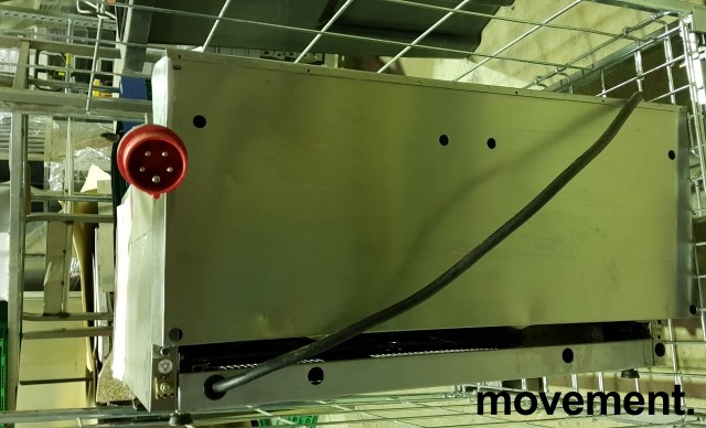 Bertos steketopp / flatgrill / stekeplate, elektrisk, 400V, bredde 80cm, pent brukt bilde 3