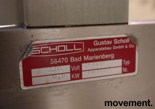 Scholl Buffetlampe / varmelampe for mat, modell 29100, 0,8KW, pent brukt bilde 2