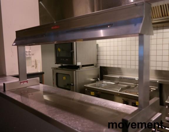 Scholl Buffetlampe / varmelampe for mat, modell 29100, 0,8KW, pent brukt bilde 1