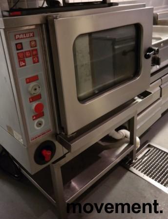 Kombidamper/konveksjonsovn, Palux EDC 6-11 med stativ, 230V trefas 9kWa, pent brukt 2007-modell bilde 2