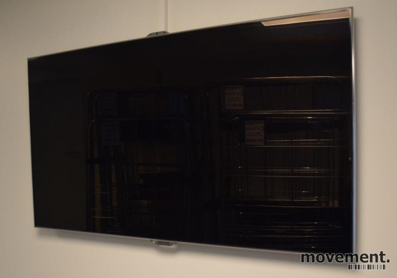 Samsung flatskjerms-TV / smart TV, 46toms, UE46ES8005, Full HD, LED Backlit, 3D, pent brukt - uten bordfot bilde 2