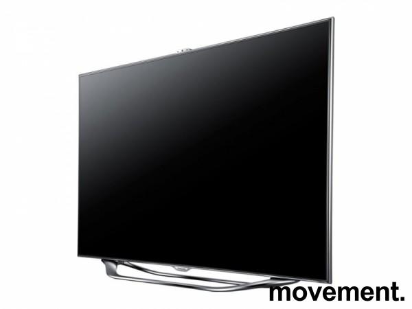Samsung flatskjerms-TV / smart TV, 46toms, UE46ES8005, Full HD, LED Backlit, 3D, pent brukt - uten bordfot bilde 5