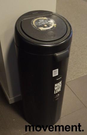 Brabantia Touch Bin søppelbøtte 30 liter, høyde 72cm, pent brukt bilde 2