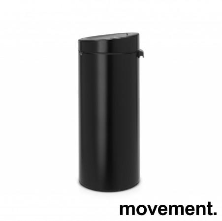 Brabantia Touch Bin søppelbøtte 30 liter, høyde 72cm, pent brukt bilde 1