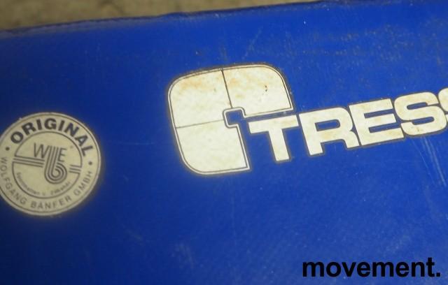 Tress skumpute / skummodul i blått, 50x40x30cm, pent brukt bilde 2