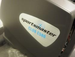 Sportsmaster Club E500 ellipsemaskin, pent brukt
