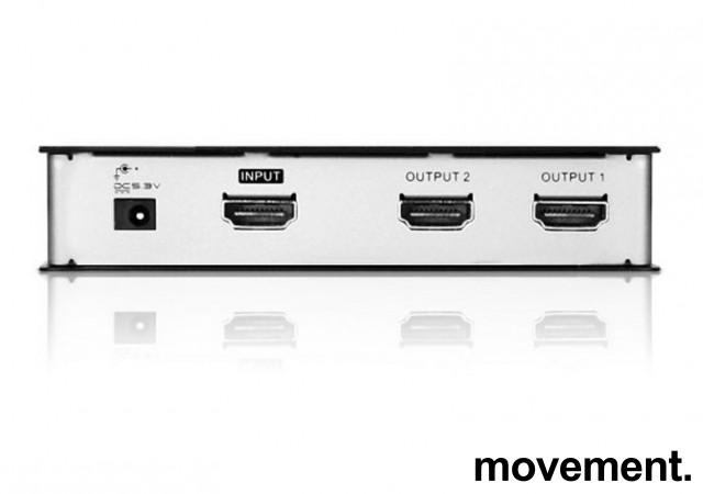 Aten VS182 - 2port HDMI Splitter, pent brukt bilde 2