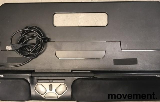 RollerMouse PRO USB, ergonomisk rullemus for musearm i sort farge, pent brukt bilde 1