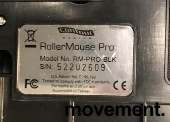 RollerMouse PRO USB, ergonomisk rullemus for musearm i sort farge, pent brukt bilde 3