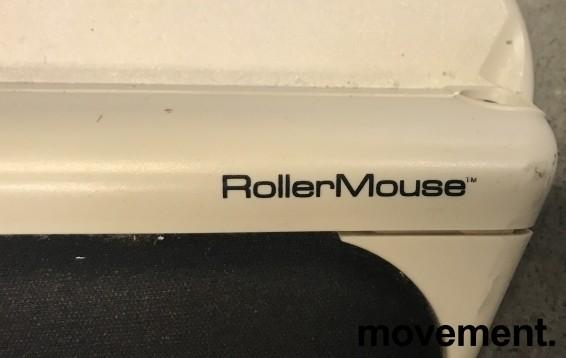 RollerMouse USB, ergonomisk rullemus for musearm i hvit farge, pent brukt bilde 2