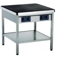 Jøni Foodline MK-2 elektrisk kokebord/komfyr, 86cm bredde, 14kW 230V 3fas, pent brukt 2015-modell