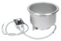 Hatco integrert suppekjele, modell Heated Well, Ø=30cm hullmål, for nedfelling i benk, pent brukt