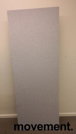 Bordskillevegg i lyst grått stoff fra Edsbyn, 180x65cm, pent brukt bilde 2