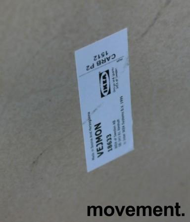 Loungebord / sofabord i brunsort fra IKEA, Vejmon Ø=60cm, pent brukt bilde 4