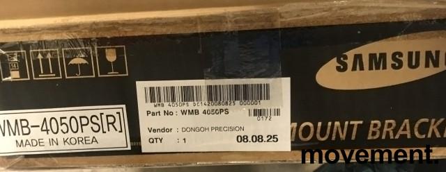 Veggfeste til flatskjerm, Samsung WMB-4050PS, nytt i eske bilde 4