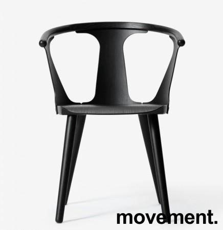 &Tradition In between stol i sort eik, design: Sami Kallio, pent brukt bilde 1