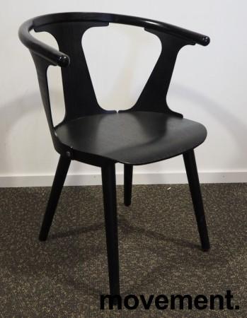 &Tradition In between stol i sort eik, design: Sami Kallio, pent brukt bilde 2