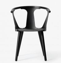 &Tradition In between stol i sort eik, design: Sami Kallio, pent brukt
