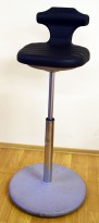 VWR ergonomisk 1punktsstol med justerbar sittehøyde 63-88cm, pent brukt