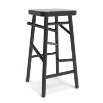 Barkrakk / barstol i sort fra NC, modell Plockepinn, høyde 64cm, pent brukt