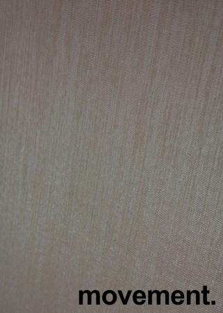 Bordskillevegg i lyst beige stoff fra Götessons, 160x65cm, pent brukt bilde 5